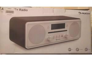 Продам  Проигрыватель  Auna 10030636 радио DAB +. CD FM+Bluetooth, Состояние нового