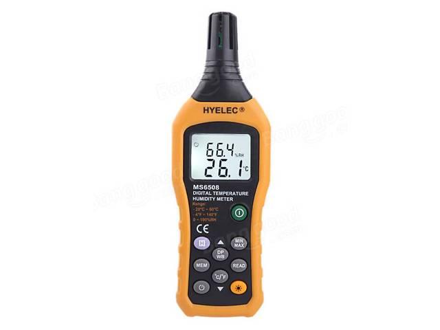продам Профессиональный термо-гигрометр Hyelec MS6508 точка росы DEW, WB, память 99 точ (mdr_2212) бу в Киеве