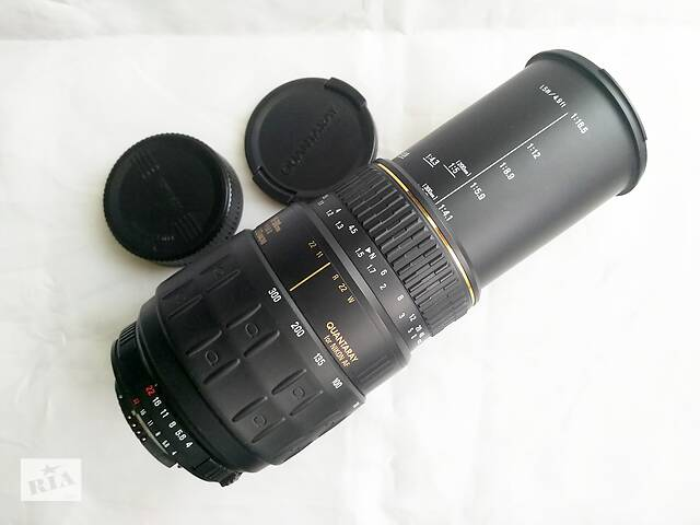 бу Quantaray (Sigma) 70-300/4-5.6 LDO Macro  for Nikon в Киеве