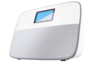 Радио-часы Ecg R-300-U-White