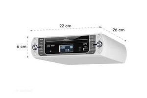 Радио стерео система кухонная (Германия) Auna KR-400 BT,DAB+FM,CD, USB