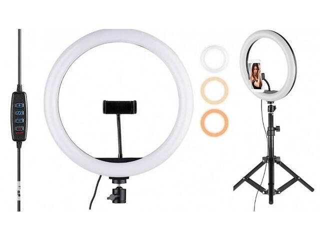купить бу Селфи кольцо кеа 2 в 1 Кольцевая LED лампа 33 см с 1 держателем для телефона в Киеве