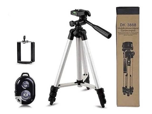 купить бу Штатив для камеры и телефона DK-3888 (1020мм) с пультом в Харькове