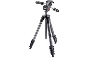 Штатив Manfrotto Compact Advanced Aluminum Tripod (MKCOMPACTADV-BK)