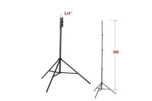 Штатив трипод монопод тринога 3м для світильників софтбокса камер лазерних рівнів та іншої техніки