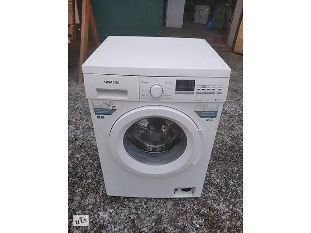 Siemens пральна машинка автомат на 6 кг б.у з Німечини- объявление о продаже  в Кам'янці-Бузькій
