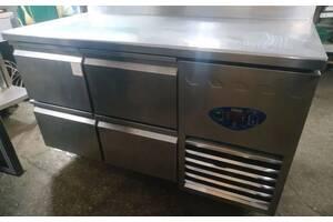 Стіл холодильний, б/в, 4 ящики DESMON TSM2-A-2Q для кафе ресторану