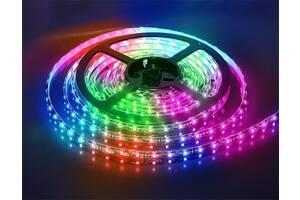 Светодиодная лента Kronos LED 7 Color 5050 RGB 5м + блок  (3338_sp)