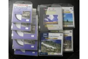 Светофильтры для объективов UV, PL,ND4,ND8,GC-Gray: Marumi,Kenko,Hoya