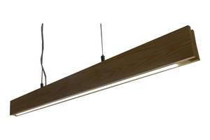 Світлодіодний світильник led лінійний дерев'яний. Ручна робота