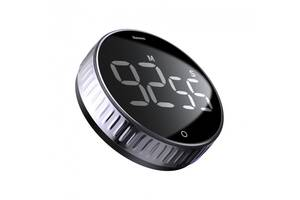 Таймер BASEUS з магнітнім кріпленням Heyo Rotation Countdown Timer Black