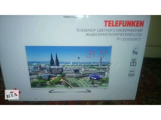 купить бу Телевізор 32 TELEFUNKEN SMART, т2,Wi-Fi, Android в Вінниці