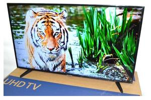 Телевизор Samsung 4K (Самсунг) 43 дюйма со Smart TV и Т2