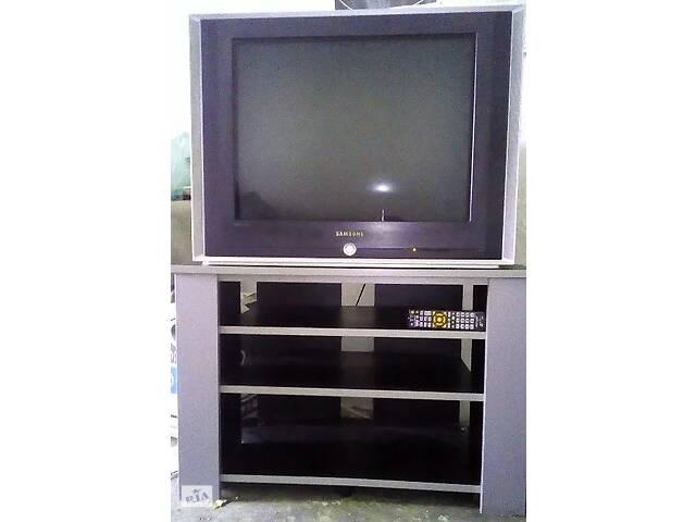 бу Телевизор Samsung cs 29m21 + тумба + DVD проигрыватель + новый пульт ДУ 7-в-1 в Киеве