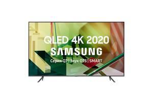 Телевизор Samsung QE85Q70T (PQI 3400 Гц, 4K UHD Dual LED, HDR10+, ОС Tizen™, DVB-C/T2/S2)