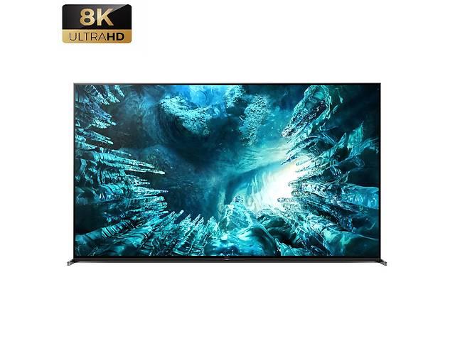 продам Телевизор Sony KD-85ZH8 (8K. Процессор X1™ Ultimate 120Гц, полная прямая подсветка, Android TV, 60 Вт) бу в Луцьку