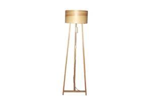 Торшер напольный в стиле лофт деревянный Woodidea Floor lamp Eco XL 1.7 м Бежевый (wdi_t1xl)