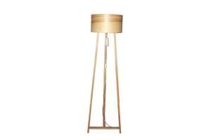 Торшер напольный в стиле лофт деревянный Woodidea Floor lamp Eco XXL 1.8 м Бежевый (wdi_t1xxl)