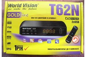 Цифровой эфирный тюнер World Vision T62N