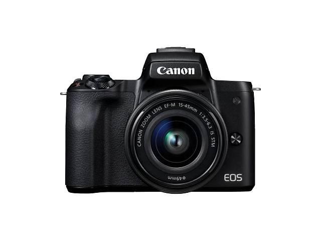 продам Цифровой фотоаппарат Canon EOS M50 15-45 IS STM Web Kit Black (2680C060WRK) бу в Харькове