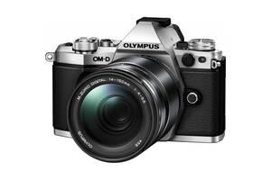 Цифровий фотоапарат OLYMPUS E-M5 mark II 14-150 II Kit silver/black (V207043SE000) 16.1 Mpx, micro 4