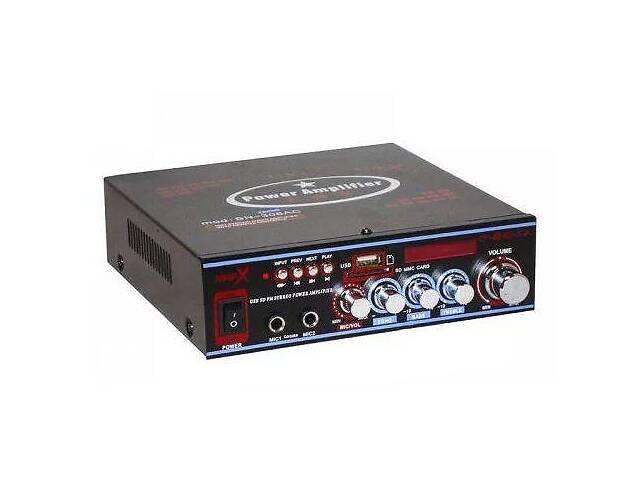 купить бу Усилитель звука Bosstron ABS-308BT с караоке и Bluetooth (gr_011760) в Киеве