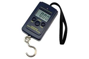 Весы электронные Kronos кантер до 40 кг (10г) (bks_00011)