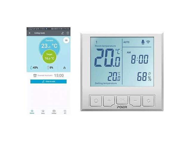 продам WiFi термостат для теплого пола Poer PTC26 (100428) бу в Киеве