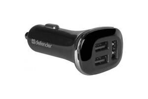 Зарядное устройство Defender UCA-50 3 USB, 5V / 4.8 A (83541)