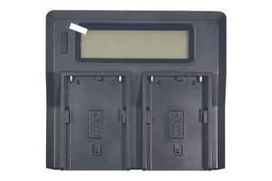 Зарядное устройство PowerPlant Dual для двух аккумуляторов Sony BP-U60 (CH980093)