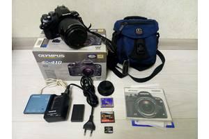 Дзеркальний фотоапарат Olympus E-410 14-45 оптика сумка карти пам'яті