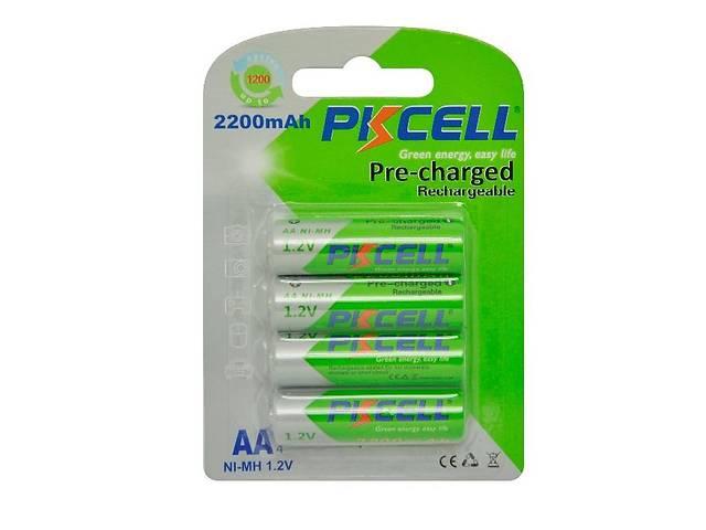 AA аккумуляторы 2200mAh PKCELL Ni-MH, качество (аналог Eneloop)- объявление о продаже  в Харькове