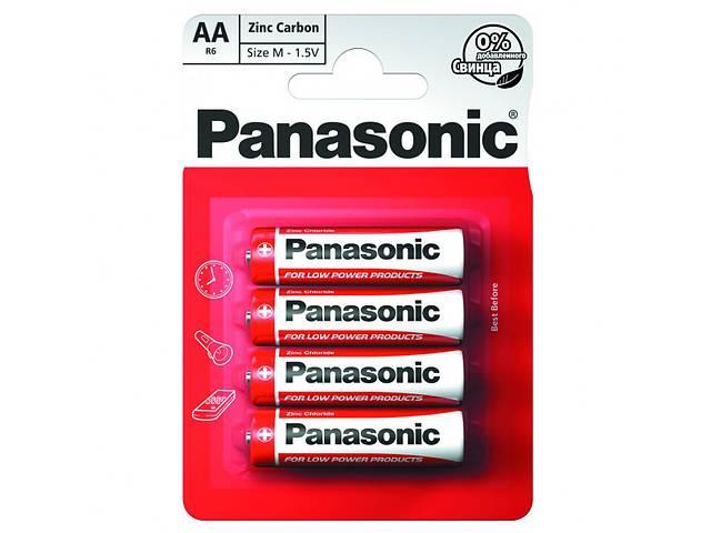 бу Батарейка Panasonic AA bat Carbon-Zinc 4шт Special (R6REL/4BP) в Харькове
