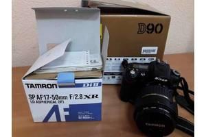 б/в Напівпрофесійні фотоапарати Nikon D90 Kit (18-200 VR II)