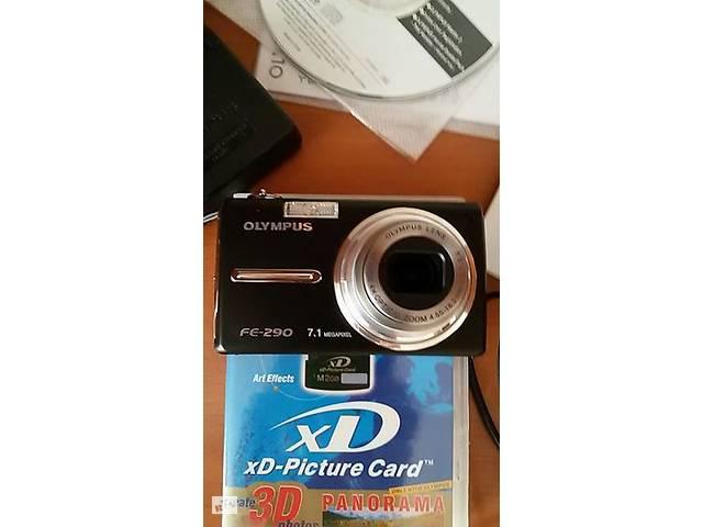 Фотоапарат цифровий Olympus FE-290, чохол, карта пам'яті на 2 ГБ- объявление о продаже  в Мелитополе