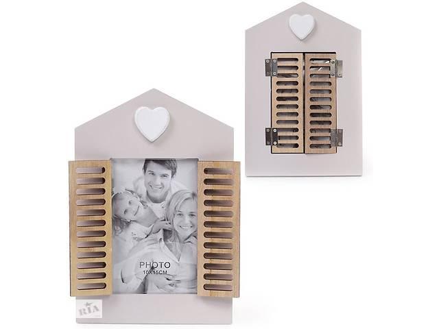 """бу Фоторамка Babyroom """"Окно со ставнями"""" для фото 10х15см, деревянная в Одесі"""