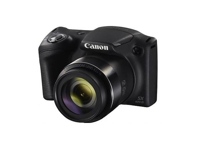 продам Цифровой фотоаппарат Canon PowerShot SX420 IS Black (1068C012) бу в Киеве