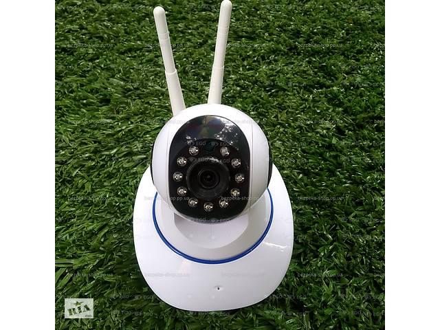 продам Беспроводная поворотная WiFi IP 2мп камера видеонаблюдения видеоняня HD 1080P camera wi-fi 2mp бу в Херсоне