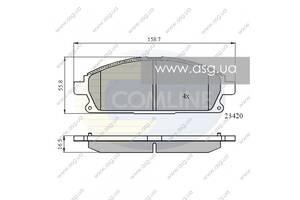 CBP0591 Comline - Гальмівні колодки до дисків - Новое