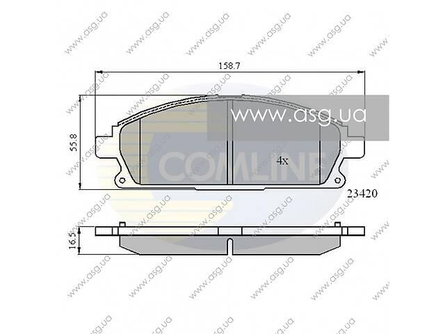 продам CBP0591 Comline - Гальмівні колодки до дисків - Новое бу в Львове