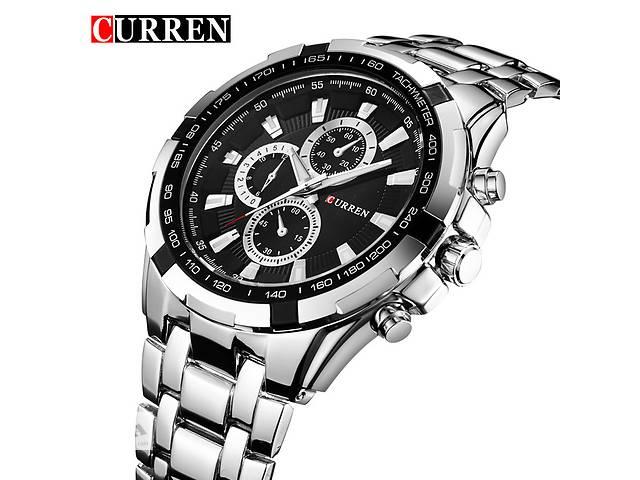 Наручные мужские часы CURREN - Black Silver- объявление о продаже  в Кривом Роге (Днепропетровской обл.)