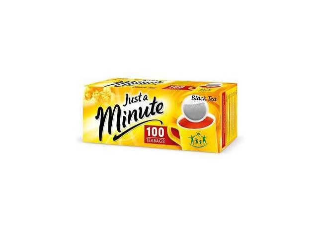 продам Чай в пакетиках Just a Minute , черный, 1,4g*100 шт бу в Киеве