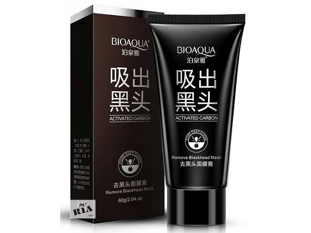купить бу Черная маска Bioaqua на основе бамбукового угля  в Киеве
