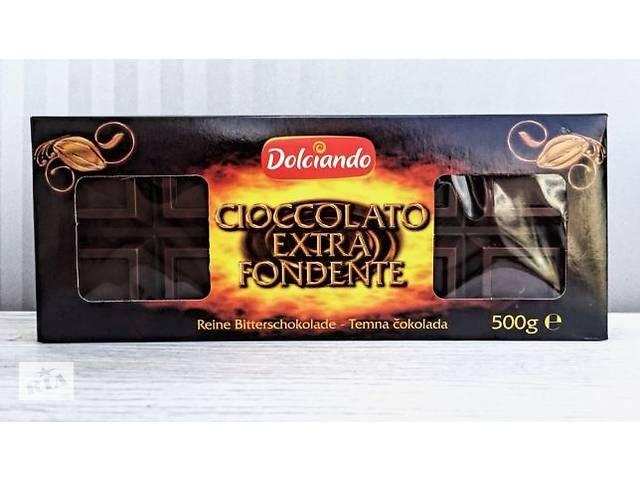 Черный шоколад Dolciando Cioccolato Extra Fondente, Италия, 500г (ИНТЕРНЕТ-МАГАЗИН)- объявление о продаже  в Львове
