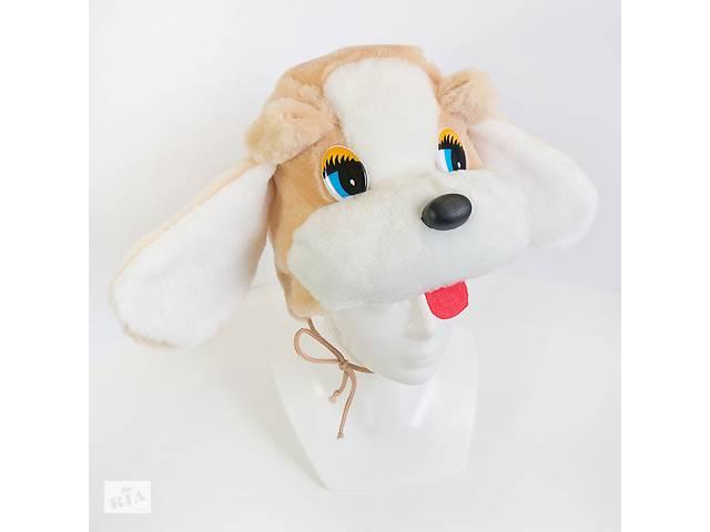 продам Детская маскарадная шапочка Kronos Toys Собака Бежевая (zol_241-1) бу в Киеве