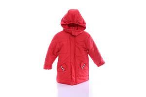 Куртка Евро для мальчика красная