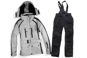 Лыжный костюм BLACK-WHITE