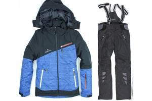Лыжный костюм BLUE-BLACK