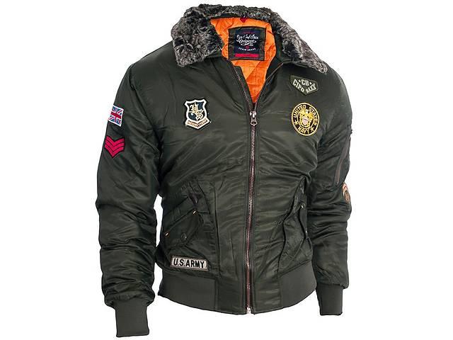 продам Мужская пилотная куртка Top Gun Cipo Baxx осень/зима, XL бу в Львові