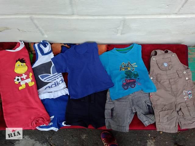 Пакет летних вещей на 1-1,5 года на мальчика - Детская одежда в ... 4d6b6523262